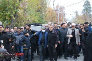 جنازه 7 300x200 - مراسم تشییع و خاکسپاری مادر محمد شهرکی خیر نمونه کشوری برگزار شد+عکس