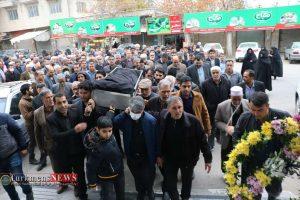 جنازه 8 300x200 - مراسم تشییع و خاکسپاری مادر محمد شهرکی خیر نمونه کشوری برگزار شد+عکس