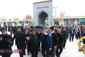 جنازه 9 300x200 - مراسم تشییع و خاکسپاری مادر محمد شهرکی خیر نمونه کشوری برگزار شد+عکس