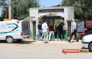 و خاکسپاری آنه محمدنیازی شهردار اسبق گنبدکاووس 3 300x192 - مهندس آنهمحمد نیازی آرادان چیقدی