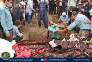"""و خاکسپاری دکتر عبدالجلیل غیادی 11 300x202 - مرحوم """"عبدالجلیل غیادی"""" در خاک زادگاهش آرام گرفت+تصاویر"""