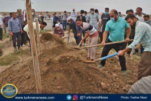 """و خاکسپاری دکتر عبدالجلیل غیادی 15 300x202 - مرحوم """"عبدالجلیل غیادی"""" در خاک زادگاهش آرام گرفت+تصاویر"""
