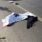 مرگ عابر پیاده بعد از تصادف با موتورسیکلت در آق قلا