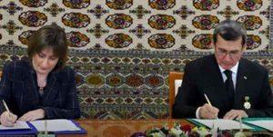 همکاری میان ترکمنستان و سازمان ملل 300x151 - امضای تفاهمنامه همکاری میان ترکمنستان و سازمان ملل