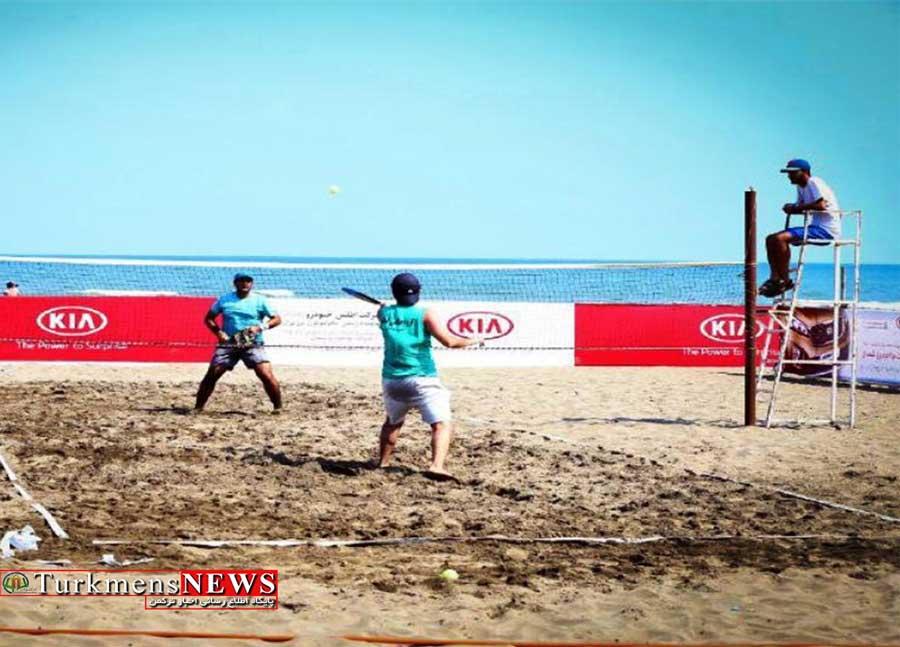 تنیس ساحلی قهرمانی کشور به میزبانی گلستان