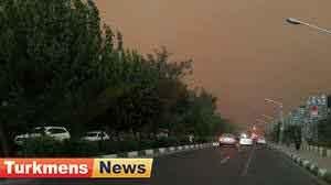 گلستان 300x168 - توفان با سرعت بیش از 100 کیلومتر در ساعت استان گلستان را درنوردید