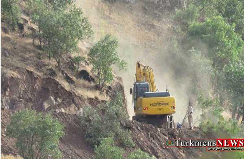 توقف تخریب بدون مجوز جنگل در گرگان