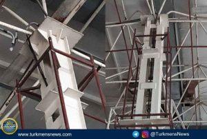 سقف مصلی اهل سنت گنبدکاووس 1 300x202 - تکمیل مصلی و مسجد بزرگ اهل سنت گنبدکاووس نیاز به کمکهای مردمی دارد+عکس