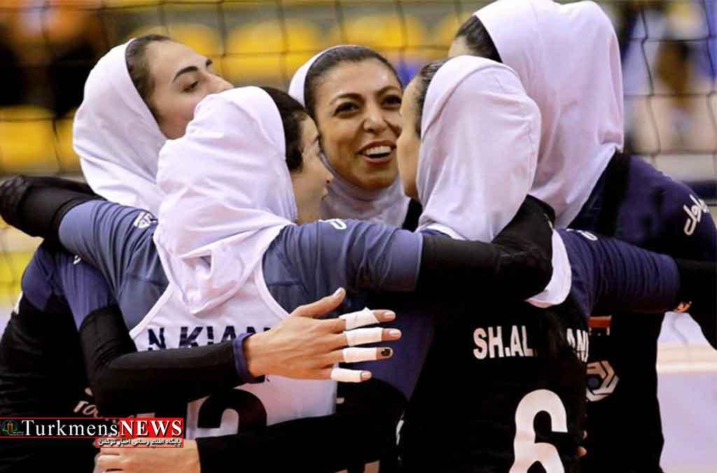 تیم ملی والیبال زنان ایران حضور دو گلستانی درخشیدند