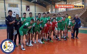 نوجوانان شهرداری گنبدکاووس 300x188 - تجلیل از پیروزی پیاپی تیم نوجوانان والیبال شهرداری گنبد با جوایز نقدی