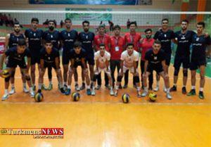 تیم والیبال گلستان در نیمه نهایی مسابقات قهرمانی امیدهای کشور حضور دارد