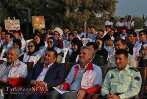 جشن بزرگ شوق رویش در اسکله شهرستان ترکمن برگزار شد+ تصاویر