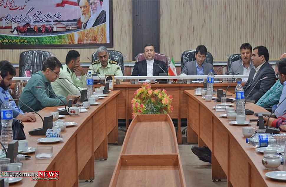 جلسه شورای هماهنگی مبارزه با مواد مخدر شهرستان ترکمن برگزار شد