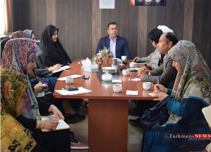 جلسه گروه کاری مناسبتها برنامه ریزی روز ملی خانواده و تکریم بازنشستگان شهرستان ترکمن برگزار شد