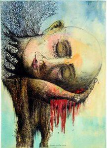 217x300 - برای مردی که خوابهای دیالیزیاش را نقاشی میکند