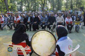 هلال احمر استان گلستان 1 1 300x198 - پایان سوت ماراتن مرحله استانی هفتمین دوره مسابقات آماده گلستان+ تصاویر
