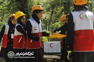 هلال احمر استان گلستان 5 1 300x198 - پایان سوت ماراتن مرحله استانی هفتمین دوره مسابقات آماده گلستان+ تصاویر