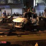 حادثه رانندگی در زیرگذر «دخانیات» گرگان چهار کشته داشت