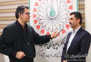 الله یوسفی مصاحبه ترکمن نیوز 1 1 300x207 - برگزاری مسابقات والیبال نوجوانان کشور به میزبانی گنبدکاووس