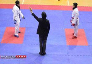 حضور بانوی گلستانی برای قضاوت در مسابقات کاراته آسیا قهرمانی