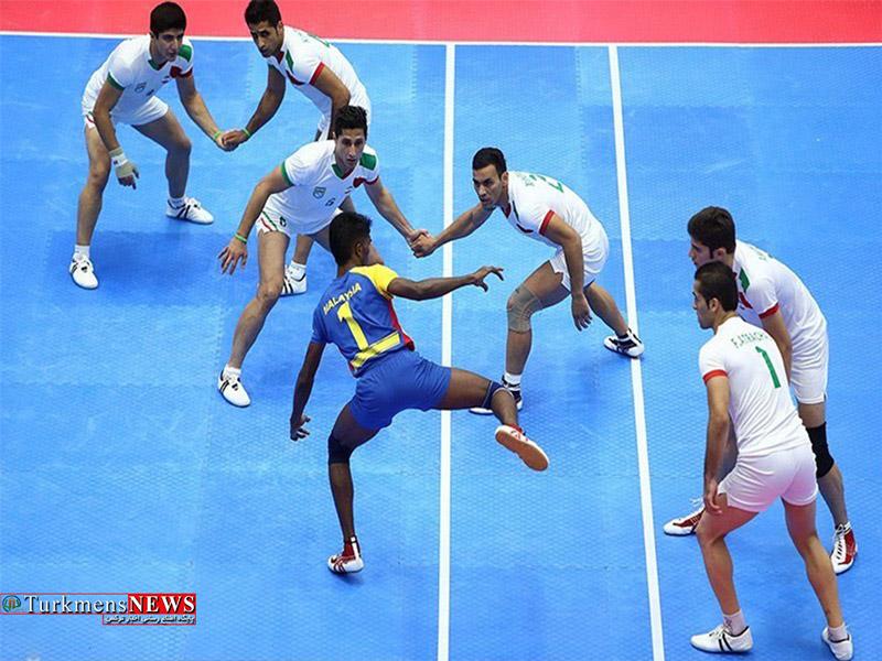 حضور کبدی کاران گلستانی در بازیهای آسیایی جاکارتا