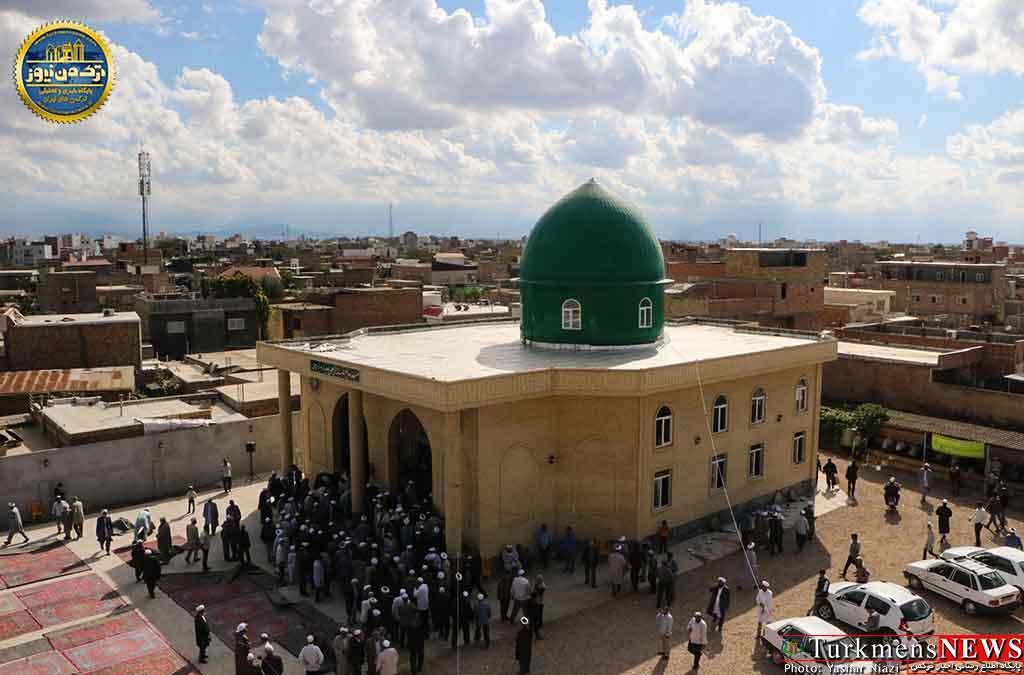حوزه علمی مدرسی ضیافت تکمیل ساختمان مسجد