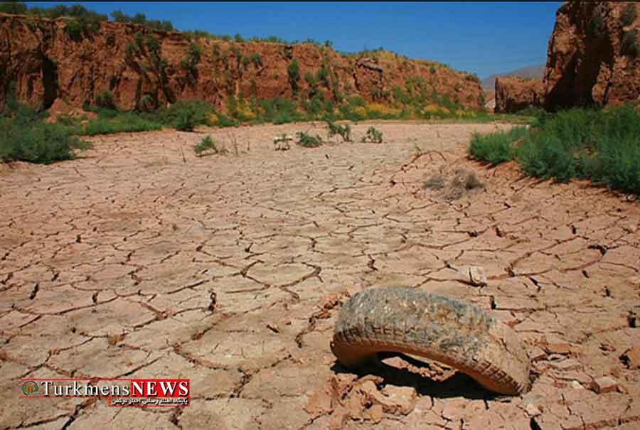 خشکسالی 10 ساله در گلستان