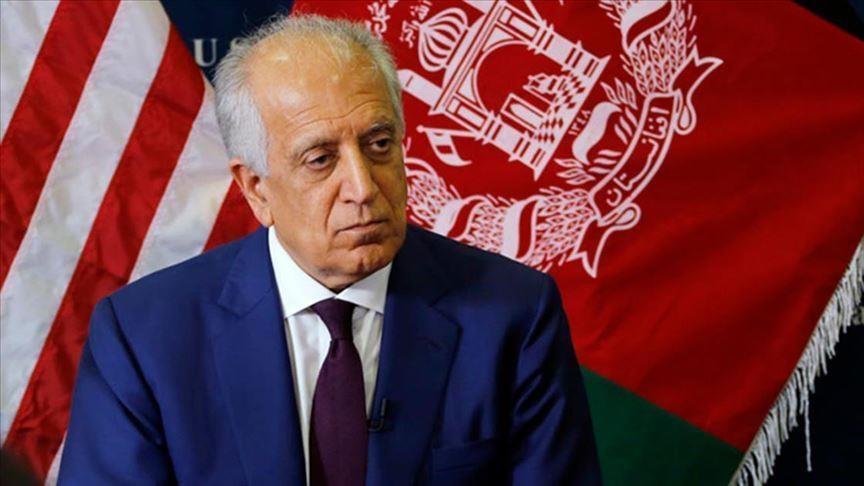 زاد - سفر خلیلزاد به افغانستان، پاکستان، ترکمنستان و قطر