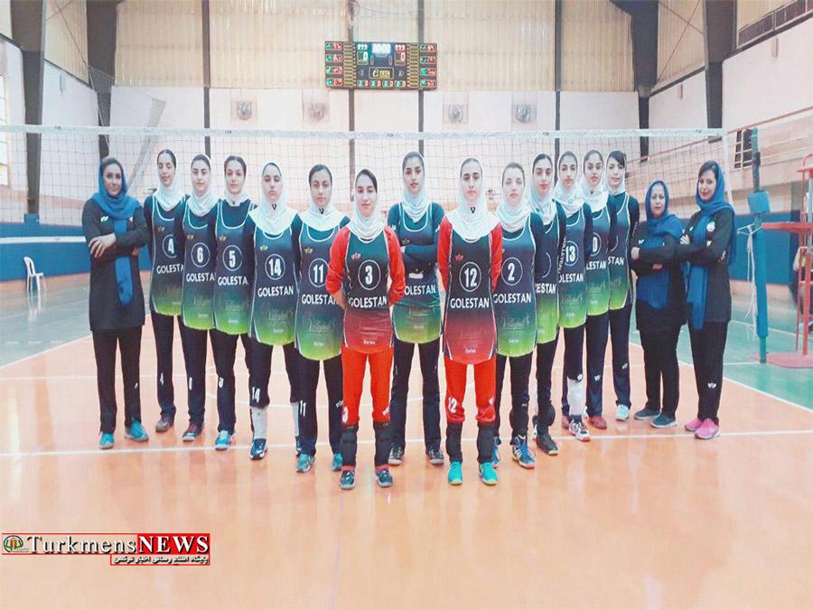 دختران گلستانی به مسابقات والیبال قهرمانی کشور اعزام شدند