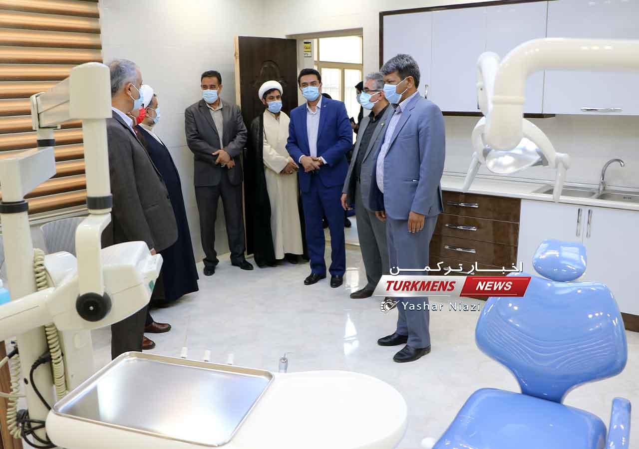 فرهنگیان گنبدکاووس ترکمن نیوز 5 - درمانگاه فرهنگیان گنبدکاووس طرف قرداد عمومی بیمهها است+عکس