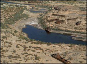 آرال 300x222 - ترکمنستان برنامه جدیدی برای دریاچه آرال تصویب کرد
