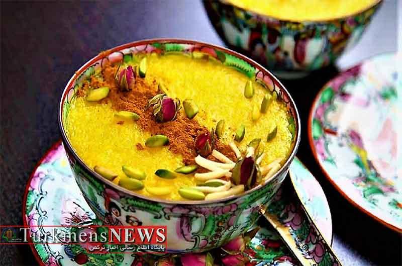 شله زرد، یک دسر خوشمزه برای افطار در ماه مبارک رمضان