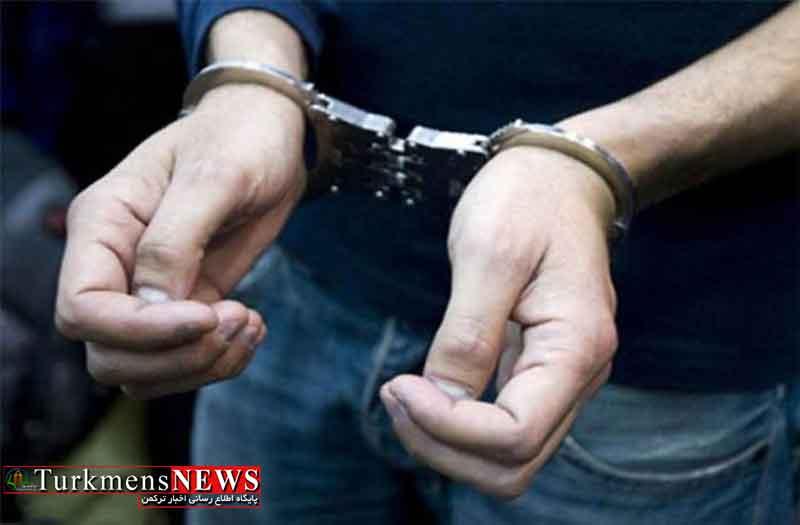 سارق سابقهدار آرایشگاههای زنانه در گلستان دستگیر شد