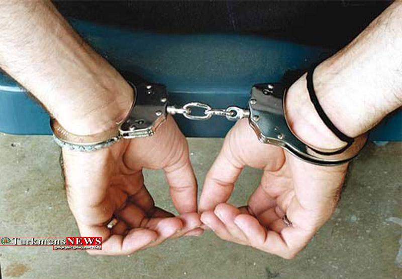 دستگیری سارق سابقه دار درآق قلا توسط پلیس آگاهی