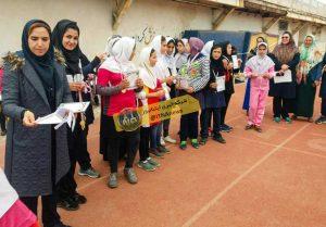 دومیدانی دختران دانش آموز گلستان