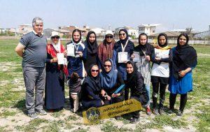 دختران گلستان 3 1 300x189 - قهرمانی دانش آموزان گنبد کاووس در مسابقات دومیدانی آموزشگاهی دختران+عکس
