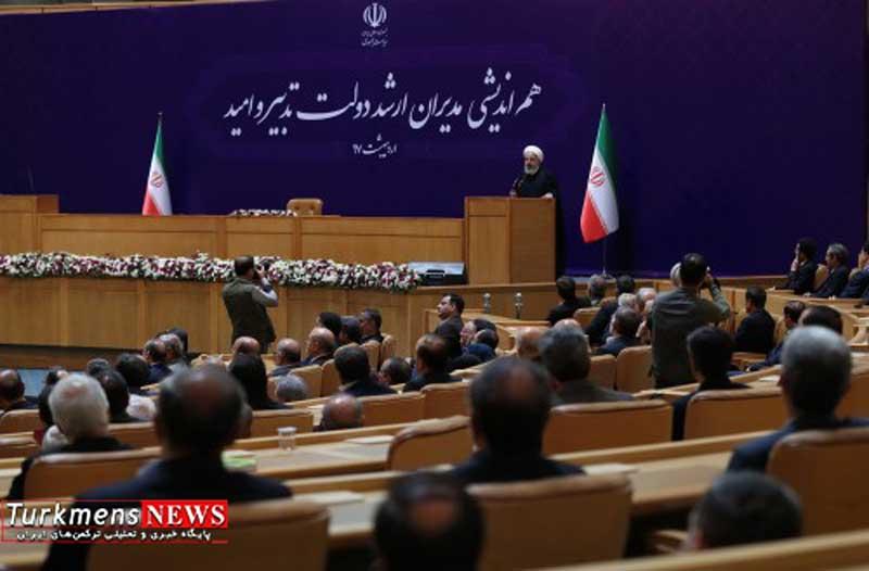 دکتر حسن روحانی خواب راحت مسئولین در گرو بی خبری و بی اطلاعی مردم