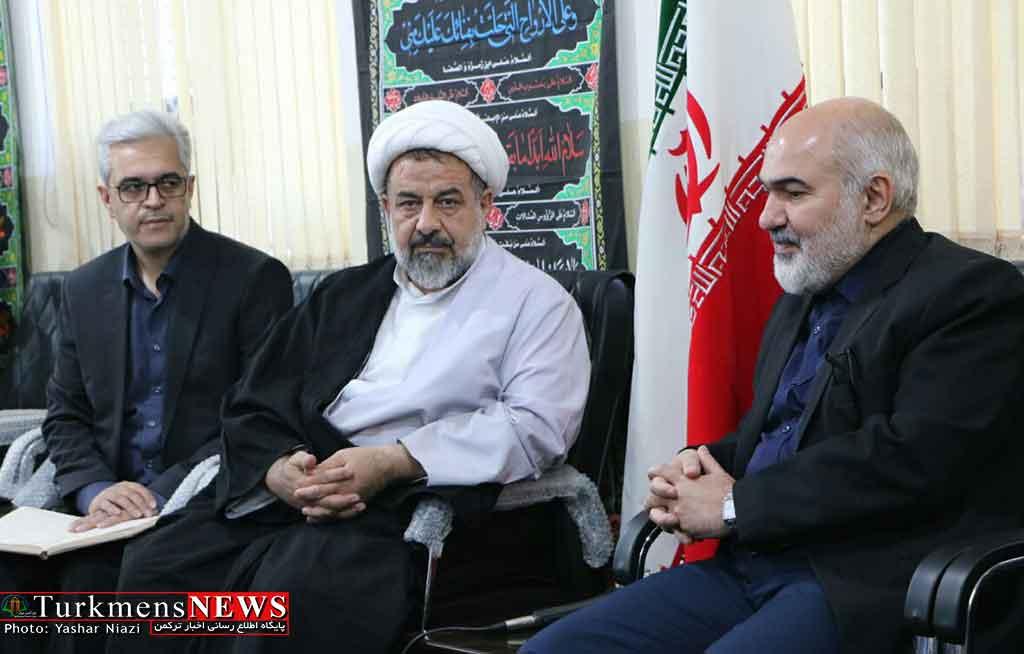 دیدار امام جمعه گنبد کاووس و دبیر کل شورای فرهنگی کشور
