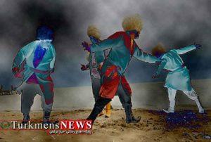 ذکر خنجر و رقصهای ترکمن
