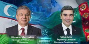 جمهور ترکمنستان و ازبکستان 300x151 - روسای جمهور ترکمنستان و ازبکستان بر مطالعه و اقدام مشترک علیه کرونا تاکید کردند