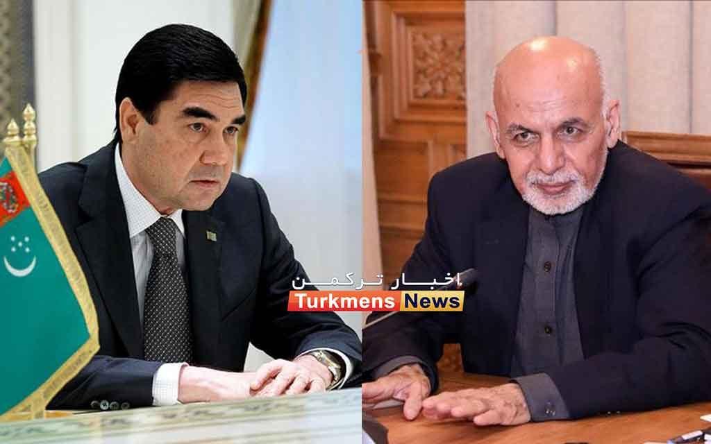 جمهوری افغانستان و ترکمنستان 1024x640 - TÜRKMENISTANYŇ WE OWGANYSTANYŇ PREZIDENTLERI BILELIKDÄKI INFRASTRUKTURA DESGALARYNYŇ AÇYLYŞ DABARALARYNA GATNAŞDYLAR