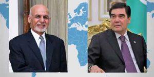 جمهور ترکمنستان افغانستان 300x151 - توسعه روابط محور گفتوگوی رؤسای جمهور ترکمنستان و افغانستان