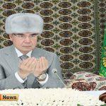 جمهور ترکمنستان 6 150x150 - Türkmenistanyň Prezidenti Gökdepe metjidinde «Akgoýun toý» sadakasyny berdi