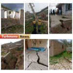 زمین مراوه تپه 150x150 - خسارت به ۳۹ خانه روستایی به علت رانش زمین در مراوهتپه