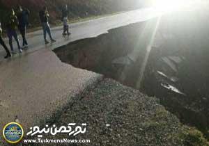 رانش زمین در مینودشت گاز ۲۱ روستا و برق ۱۱ روستا را قطع کرد