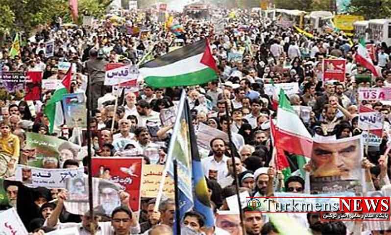 اعلام مسیرهای راهپیمایی روز جهانی قدس در گلستان