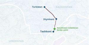 آهن ازبکستان قزاقستان 300x151 - Gazagystan bilen Özbegistanyň arasynda ýokary tizlikli otly saparlary ýola goýular