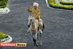 ملی اسب ترکمنستان 300x199 - برگزاری جشن روز ملی اسب در ترکمنستان