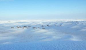 مرزی گنبد 300x176 - شادمانی کشاورزان مرزنشین گنبدکاووس از نخستین بارش زمستانی