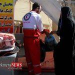 مردم گنبدکاووس به ارزش 600 میلیون تومان به زلزله زدگان کرمانشاه کمک کردند